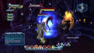 getlinkyoutube.com-Dcuo Fire dps vs a Quantum Dph gameplay