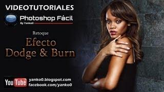 getlinkyoutube.com-Efecto fotográfico Dodge and Burn Photoshop
