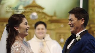 getlinkyoutube.com-Vic Sotto and Pauleen Luna's Wedding
