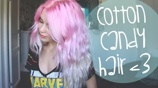 getlinkyoutube.com-How To: Pastel Pink/Purple/Silver Ombre Hair ♡