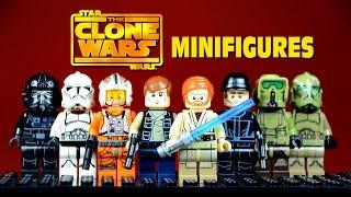 LEGO Star Wars: The Clone Wars KnockOff Minifigures Set 4 w/ Hans Solo & Obi-Wan Kenobi