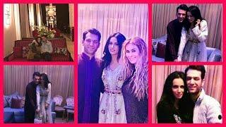 getlinkyoutube.com-شاهدوا بصور ايمان الباني متالقة بالقفطان المغربي و تحتفل مع زوجها مراد!!