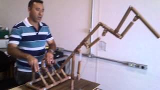 getlinkyoutube.com-Braço hidráulico com cano de PVC - UNIP SÃO JOSÉ DOS CAMPOS