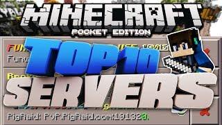 getlinkyoutube.com-TOP 10 BEST SERVERS for 1.0.3 Minecraft Pocket Edition!