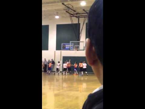 6th grade T2RBL buzzer beater shot