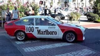 Alfa GTV6 Production avant le départ de la course de côte d'Etretat (28 Août 2010)