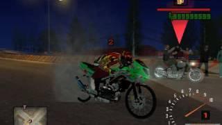 Drag Bike Ninja RR DI GTa Sa Exteram indonesia