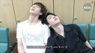 getlinkyoutube.com-[ENG SUB][BANGTAN BOMB] Jimin & Jung Kook did 'Show Music Core' Special MC!!