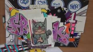 Graffiti Sticker Update #14 | Fresk, Nazer, CLSR, Satire + More