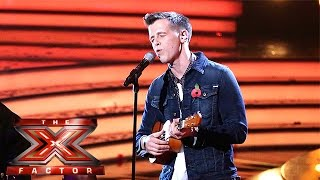 getlinkyoutube.com-Max Stone is Somewhere Over The Rainbow  | Live Week 2 | The X Factor 2015