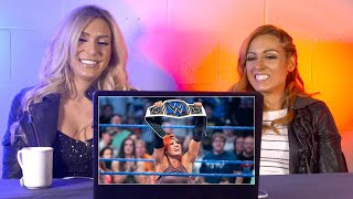 Becky Lynch & Charlotte rewatch Becky's SmackDown Women's Title win: WWE Playback