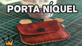 getlinkyoutube.com-Porta Níquel - Trabalho - Artesanato em Couro