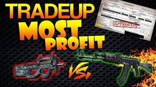 getlinkyoutube.com-CS:GO - Trade-Up | Most Profitable Contract?!