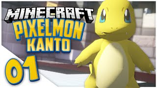 getlinkyoutube.com-Minecraft Pixelmon Kanto: Episode 1 - SHINY CHARMANDER (Pixelmon Public Server)