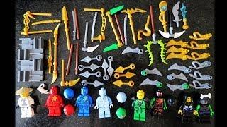 getlinkyoutube.com-Lego Ninjago BOLE The Final Battle Bootleg Minifigures pack Review