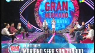 getlinkyoutube.com-Eloy y Solano el beso de la discordia, el debate GH 2015