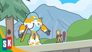 getlinkyoutube.com-Transformers Rescue Bots: Return Of The Heroes (3/4) Blades and Cody Inside a Video Game HD