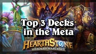 getlinkyoutube.com-Hearthstone - Top 3 Decks in the Meta