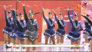 World Champion Majorettes Sport 2015 BATON Seniors Stage