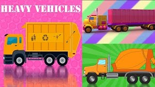 getlinkyoutube.com-Cars and Trucks Compilation | Cars And Heavy Vehicles | kids videos | learn street vehicles