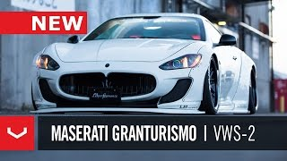 getlinkyoutube.com-Maserati GranTurismo Liberty Walk   Vossen x Work Wheels   VWS-2