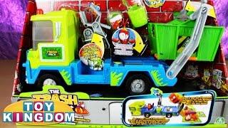 getlinkyoutube.com-Trash Pack Junk Truck Playset by Toy Kingdom