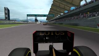 F1 2012 rFactor SP - G.P. Malasia - Team Lotus - Highlights