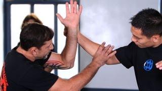 getlinkyoutube.com-Outside Defense against Punches, Part 1 | Krav Maga Defense