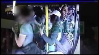 getlinkyoutube.com-Tacizciye otobüste DAYAK!