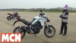 Ducati Multistrada 1200S v Multistrada 950 | Motorcyclenews.com