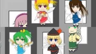 "Touhou All Star ""Fukkireta"""