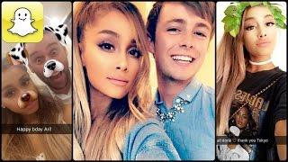 getlinkyoutube.com-Ariana Grande - Snapchat Video Compilation (Best 2016★)