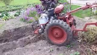 getlinkyoutube.com-savadarbis motoblokas 2 - homemade 2 wheel tractor