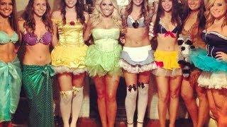 getlinkyoutube.com-DIY disney princess costumes