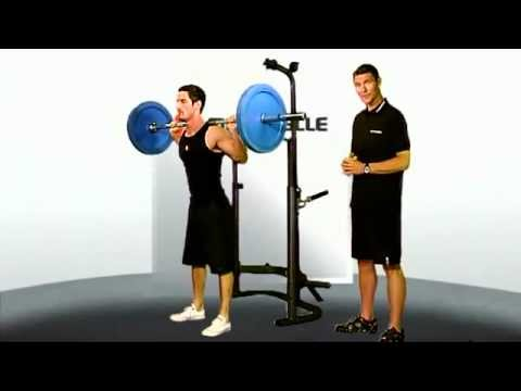 Full Olympic Back Squat for Basketball players