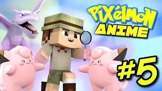 getlinkyoutube.com-Pixelmon Anime ★ MT MOON! 🌑 (Minecraft Pixelmon Roleplay) Episode 5