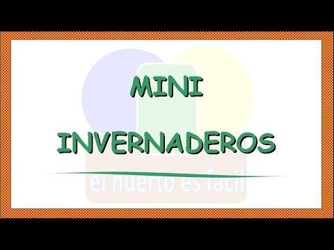 Mini invernaderos || El Huerto Es Facil
