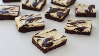 getlinkyoutube.com-Cream Cheese Marbled Brownies Recipe
