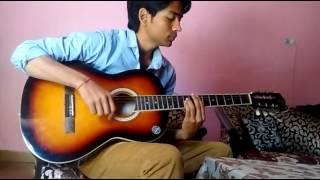 Aur ahista kijiye baatein (acoustic cover)- Abhideep Petwal