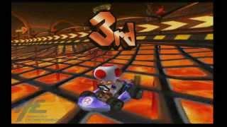 Mario Kart Arcade GP2 - Bowser Castle Races 1 & 2