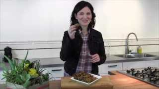 DIY Organic Yerba Mate Energy Bar Recipe