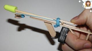 getlinkyoutube.com-Como fazer uma arma caseira - (Mini besta)