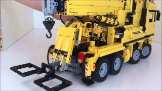 getlinkyoutube.com-Lego Technic 8x4 Tow Truck/Recovery Vehicle