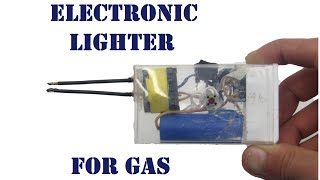 getlinkyoutube.com-How to do an electronic arc lighter with own hands