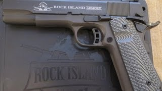 getlinkyoutube.com-Rock Island Armory 1911 Tactical 2 FS Pistol Unboxing