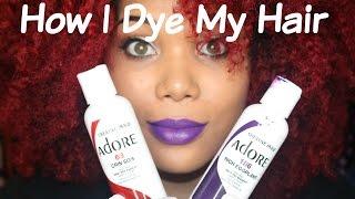 getlinkyoutube.com-How I Dye My Natural Hair Red!