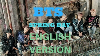 BTS - Spring Day English Version (Acoustic Cover)