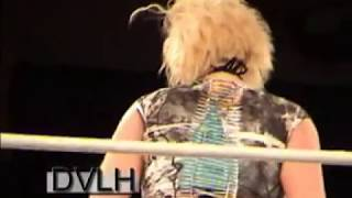 getlinkyoutube.com-7 foot tall Isis wrestling Mickie Knuckles at the 2010 Gathering of the Juggalos