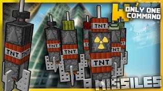 getlinkyoutube.com-Minecraft: DEADLY MISSILES With Only two Command Blocks (1.11 Command!)