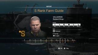 getlinkyoutube.com-MGSV- S Rank Farm, secret to finding S rank staff